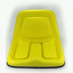 John Deere Complete High-Back Seat Assembly - AM116408 - See parts catalog for serial number breaks
