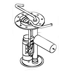 John Deere Fuel Pump - Fuel Tank Sender Assembly - AM135284