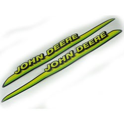 John Deere Hood Stripe Decal Kit - AM122823