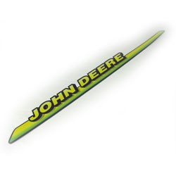 John Deere Right Hand Hood Stripe Decal - M126040