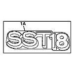 John Deere Model SST18 Lawn Tractor Parts