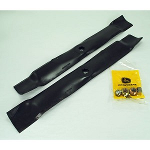 John Deere Blade Kit For 42M Mulching Mowers (Includes 2 Blades and Hardware) - AM140973