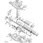 John Deere Model GX75 Rear Engine Rider Parts