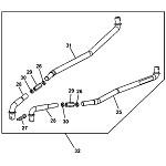 John Deere Model LT155 Lawn Tractor Parts
