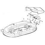 42C Mower Deck Parts for LT180