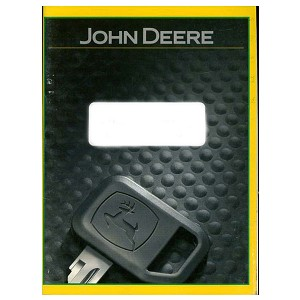 John Deere Operators Manual - OMGX21222 - See product detail for serial number range