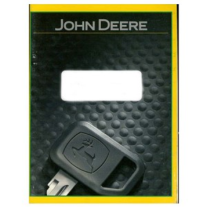 John Deere Operators Manual - OMM153966 - See product detail for serial number range