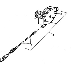 John Deere Blade Control Cable - GC90194