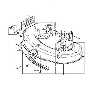 john deere lt166 parts manual