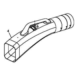 John Deere Lower Chute - M159479