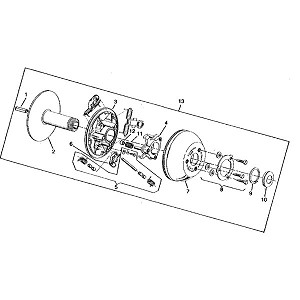 Ford 1720 Parts Diagram also 4121607474 furthermore Water Pump Rebuild Kits also John Deere Amt 600 Wiring Diagram likewise 310419931280. on john deere 350 wiring diagram