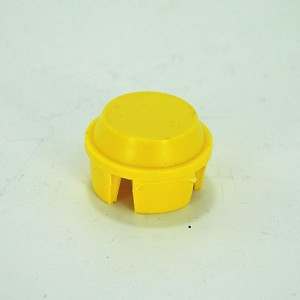 John Deere Yellow Gauge Wheel Cap - M110572