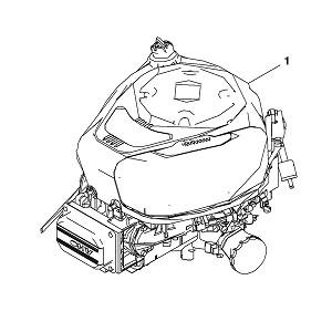 john deere complete gasoline engine mia13106. Black Bedroom Furniture Sets. Home Design Ideas