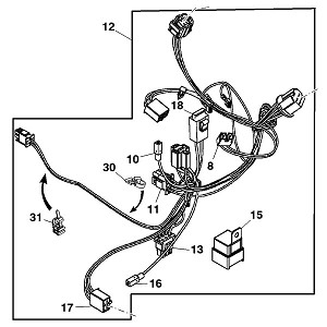 John Deere LT166 Wiring Diagram additionally Kubota B8200 Parts Diagram together with Scotts Lawn Mower Ignition Switch Wiring Diagram also Images in addition Sabre 1646 Wiring Diagram. on wiring diagram john deere lx176