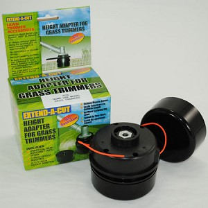 Extend-A-Cut Height Adapter and Replacement Lawn Trimmer Head