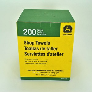 John Deere Shop Towels in a Box - TY26776