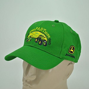 John Deere Custom Twill Cap GreenPartStore.com - Free with $250.00 purchase