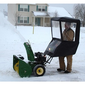 Universal Walk Behind Snow Blower Cab - 25016