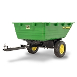 John Deere 16YS Poly Swivel Dump Cart - LP68186