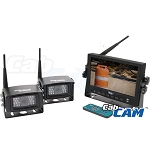 CabCam Wireless 7-inch Color LCD Screen System - A-WL56M2C
