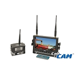 CabCam 7-inch Digital Wireless Camera System, Quad Display - A-CDW7M1C