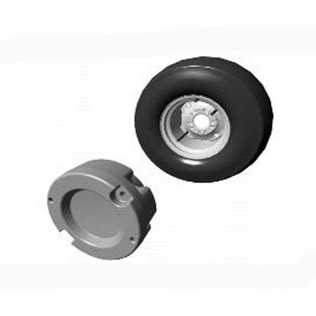 John Deere Gifts >> John Deere 72-lb Cast Iron Rear Wheel Starter Weight - BM17973