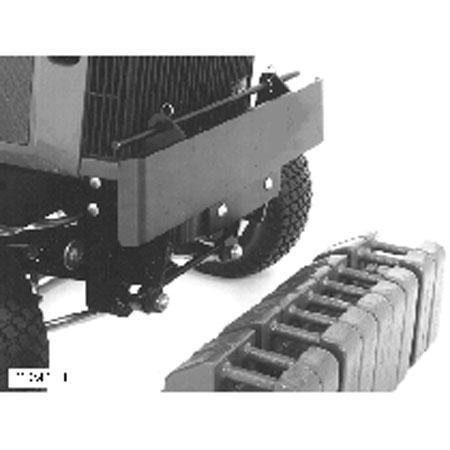 John Deere Front Quick Tach Weight Bracket Bm24363