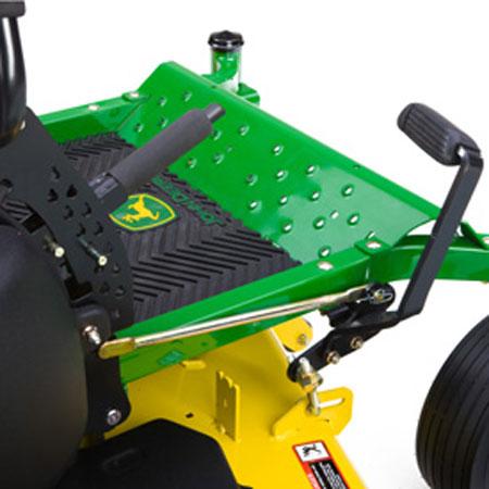 john deere premium foot lift kit bm22970 rh greenpartstore com John Deere Z445 Specs John Deere Z445 Specs