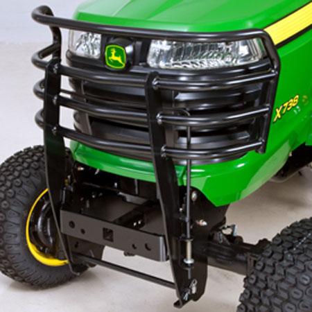 John deere front brush guard kit bm24375 for Chambre a air tracteur tondeuse
