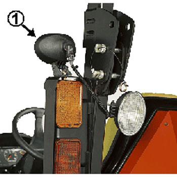 John Deere Auxiliary Forward Lighting Kit Lvb25546
