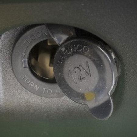 am136716 john deere 12 volt power port outlet kit am136716 john deere x740 wiring diagram at n-0.co