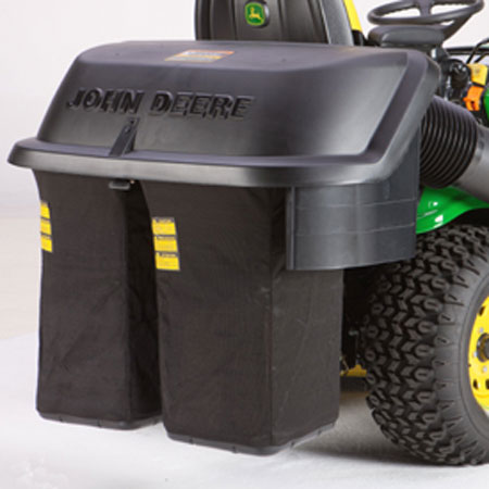 john deere 7 bushel 2 bag rear bagger hopper assembly bm20780