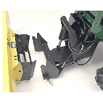 John Deere Front Quik-Tatch Hitch and Hydraulic Lift Kit - LVB24898