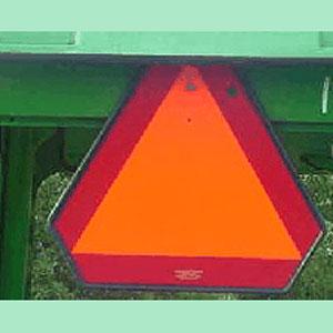 Slow Moving Vehicle Sign >> John Deere Slow-Moving Vehicle Sign Kit - TCA13825