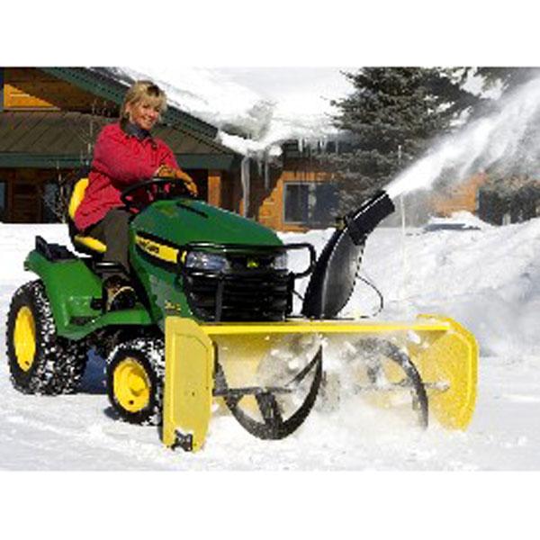 John Deere Snow Blower Attachment : John deere inch snow blower multi terrain m