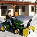 John Deere 44-in. Snow Blower for 100 Series and S240 Sport Tractors - 7009M