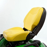 John Deere 21-inch Professional Two-Piece Seat with Four-Bar Suspension and Slide - BM25346