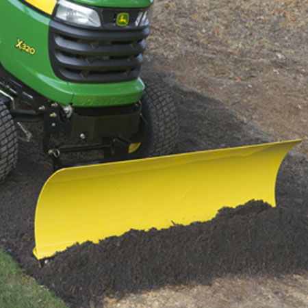 Greenpartstore John Deere Parts And More Parts For >> John Deere 44-inch Front Blade for X300 Series Tractors