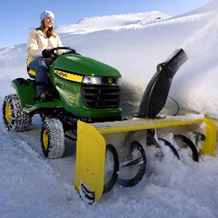 John Deere Gator >> John Deere 44-inch Snow Blower for X300 Series and X500 and X520 - SKU23045