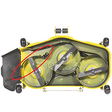 John Deere Gator >> John Deere Mulch Control for 54-inch Accel Deep Mower Deck ...