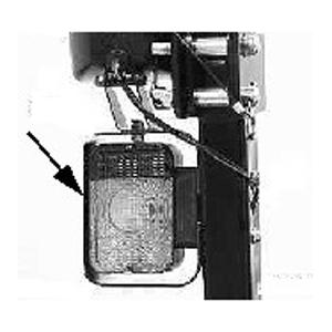 John Deere Rops Warning Light Guard Kit Blv10399
