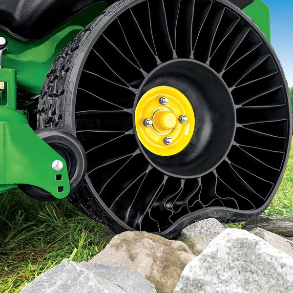 Michelin X Tweel Turf Rear Tire Set for 24x12N-12 with John Deere Z900 Z-Traks - 9982TC - 9983TC