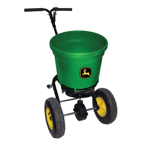 John Deere Push Spreader - 50-lb Round - LP22875