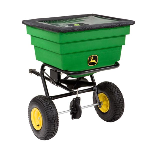 John Deere Spreaders Lawn Tractor : John deere pull type spin spreader lb lp