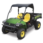 John Deere Heavy-Duty XUV OPS Soft Roof - 2 Passenger - Black - LP47994