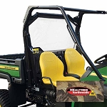 John Deere Heavy-Duty XUV OPS Soft Rear Screen - Camo - LP48000