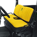 John Deere Mid Size Bench Seat Cover - Yellow - LP66449