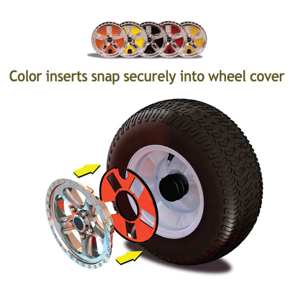 Lawn Garden Tractor Wheel Covers : Wheelies tractor wheel covers gv