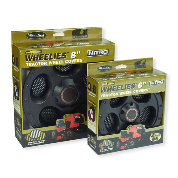 Wheelies Black Wheel Covers - GV28