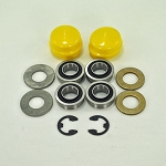 John Deere Front Wheel Bearing Replacement Kit - AM127304KIT1